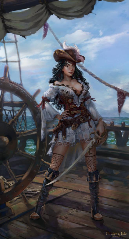 Sela - Pirate Princess by babeskull16