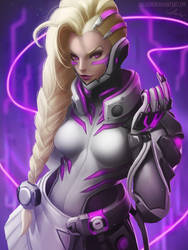 SOMBRA Augmented - Overwatch by Lolliedrop