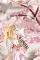 Shigatsu wa kimi no uso - Kaori Miyazono by KiraHokuten
