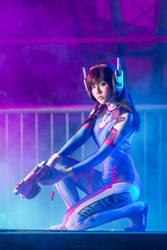 Overwatch - D. Va by KiraHokuten