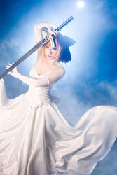 Fate Stay Night - Saber by KiraHokuten