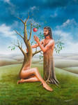 Adam and Eve by mahirates