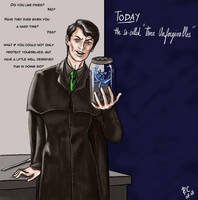 Professor Riddle by slytherinfiend