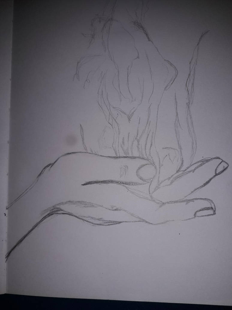 firespell unfinished sketch by edxart