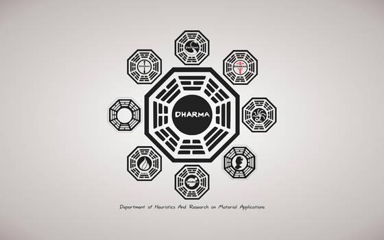 Dharma Initiative Wallpaper by MisterCrankyGeek