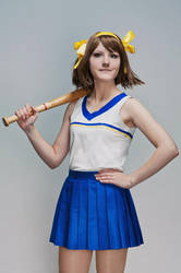 Haruhi and baseball - 2 by MollyMetaphora