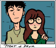 Daria and Trent snapshot by hyperdol