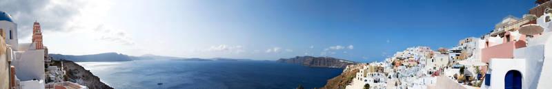 Santorini, A Panaramic II. by Fishstyx666
