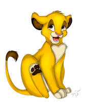 Simba remake by catderson