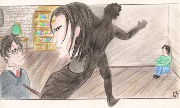 Snape memories... by Jafean