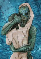 The Shape of water by Jafean