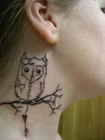 My little Owl by CandiceTheTattooist