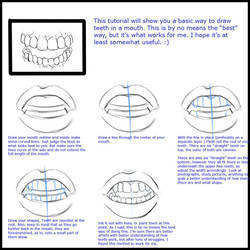 Mini  teeth tutorial by RaSen