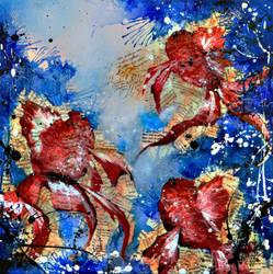 Goldfishes by Kudnalla