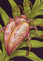 Love Bug ATC by TabLynn