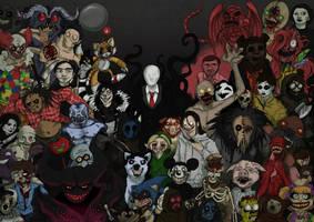 Creepypasta by Popuche