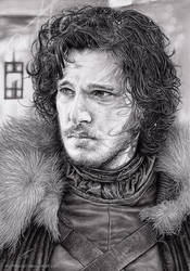 Jon Snow by myAtta-art