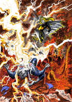 Mary Marvel vs. Superman by LaysFarra
