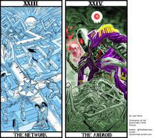 Uel Aramchek's TAROT ARCANA XXIII and XXIV by LaysFarra