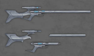 Commission - Revolution Rifle by firestrike2