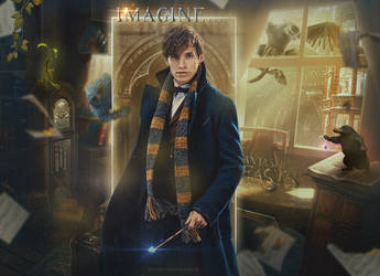 Fantastic Beasts by Amatyultare