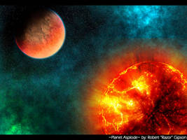 Planet Asplode by Razor-the-Fox