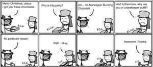 Comic 35: It's Jesus by lolwebcomic
