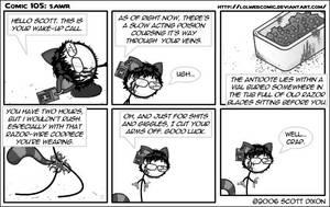 Comic 105: Sawr by lolwebcomic