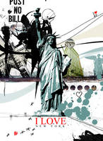 Liberty 'I love new York' by smoothdog2000