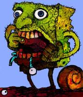 Spongebob by rubbe