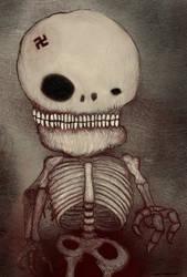 Skelton by rubbe