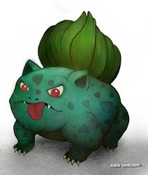 Bulbasaur by rubbe