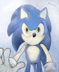 Sonic  by rubbe