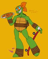 TMNT: Pizza time!~ by awkward-dark-nerd