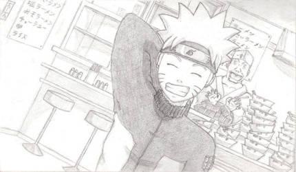 Naruto at Ichiraku's by BTrinidad