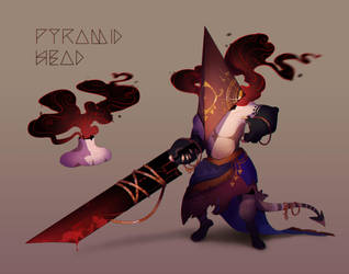 [closed] Maskcatz Advent day 24: Pyramid Head by Pepperoonie