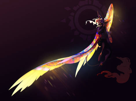 T: Glass Angel by Pepperoonie