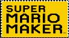 Super Mario Maker Stamp by SuperMarioEmblem