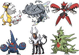 2nd Gen Mega Evolutions Sprites by conyjams