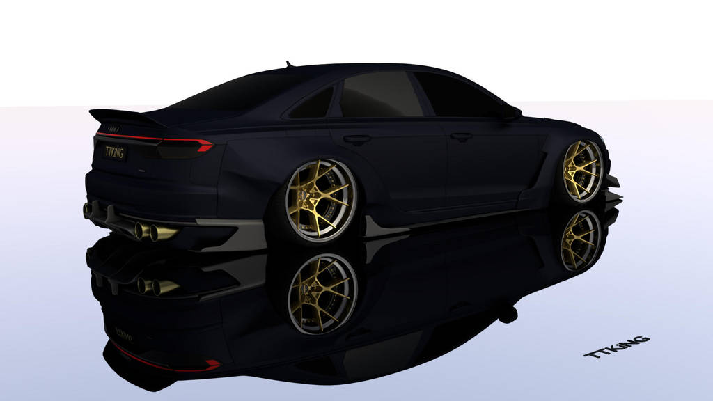 Audi A8 2018 widebody TTKiNG by TTKiNG13