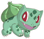Facebook Bulbasaur by tveye363