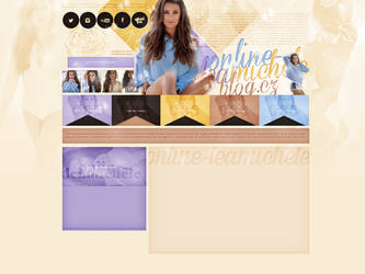 Ordered design Online-leamichele by terushdesigns