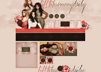 Ordered design for Fifthharmonydaily by terushdesigns