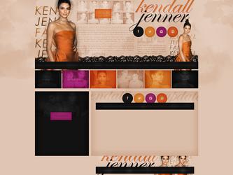 Free design Kendall Jenner by terushdesigns