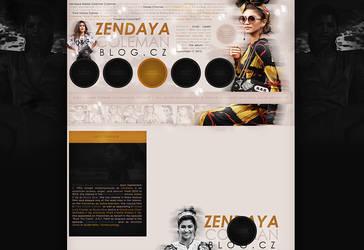 Free design (Zendaya) by terushdesigns