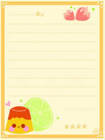 pudding maill paper by LouBerry