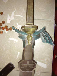Papercraft Zelda sword 2 by RAIZ-Vinleon