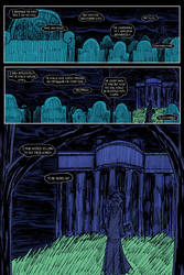 Dark Shadows: The Night Whispers page one by herbertzohl