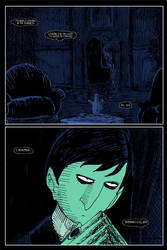 Dark Shadows: The Night Whispers page two by herbertzohl