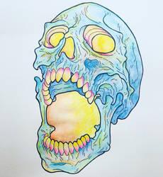 Skull by RobertGillett